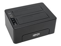 Tripp Lite USB 3.0 SuperSpeed to Dual SATA External Hard Drive Docking Station w/ Cloning 2.5in and