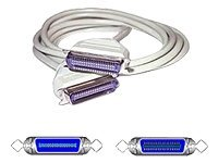 C2G Printer extension cable 36 pin Centronics (M) to 36 pin Centronics (F) 10 ft mol