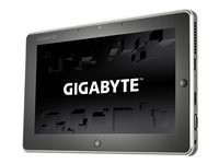 Gigabyte S1082 Tablet with detachable keyboard Celeron 887 / 1.5 GHz Win 8 2 GB RAM