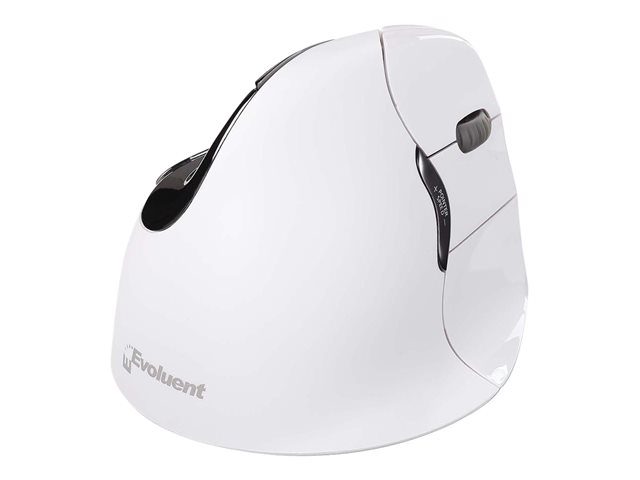 Image of Evoluent VerticalMouse 4 Right Mac - mouse - Bluetooth - white