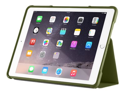 STM dux Flip cover for tablet rugged polycarbonate, thermoplastic polyurethane (TPU)