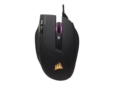 CORSAIR Gaming Sabre RGB Optisk Kabling Sort