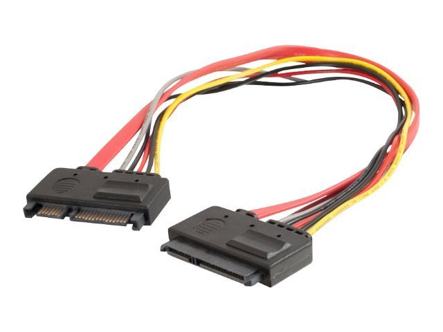 C2G 22 Pin SATA Extension Cable - SATA extension cable - 30.5 cm