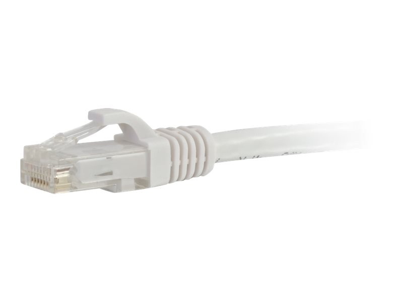 C2G 7ft Cat6a Snagless Unshielded (UTP) Network Patch Ethernet Cable-White - patch cable - 2.13 m - white