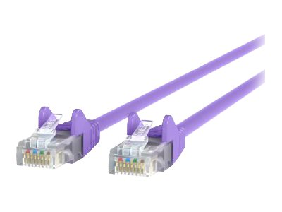 Belkin patch cable - 0.9 m - purple - B2B