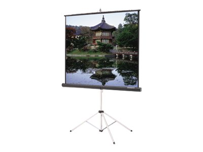 Da-Lite Picture King with Keystone Eliminator Video Format Projection screen with tripod