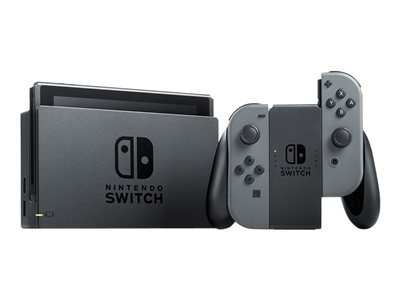 Nintendo Switch Gray Joy-Con Grå Sort