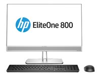 HP EliteOne 800 G4 All-in-one Core i5 8500 / 3 GHz RAM 8 GB SSD 256 GB DVD-Writer
