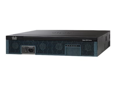 Cisco 2951 Voice Bundle - Router - Sprach- / Faxmodul - GigE - WAN-Ports: 3 - an Rack montierbar