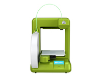 3D Systems Cube 2 - 3D printer - FDM - build size up to 140 x 140 x 140 mm - layer: 0.2 mm - Wi-Fi(n) - green