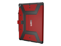 UAG Rugged Case for iPad Pro 12.9-inch (2017) & iPad Pro 12.9-inch (1st Gen) - Case for tablet - rugged - magma - for Apple 12.9-inch iPad Pro