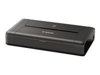 Canon PIXMA iP110 - Printer - colour - ink-jet - A4/Legal - up to 9 ipm (mono) / up to 5.8 ipm (colour) - capacity: 50 sheets - USB 2.0, Wi-Fi(n) - with LK-62 battery