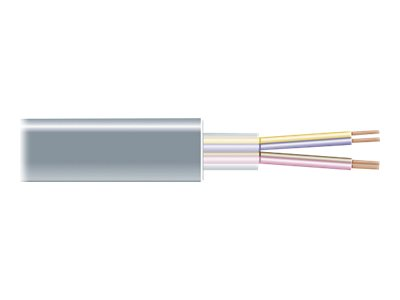 Black Box serial RS-232 cable - 609.6 m - gray