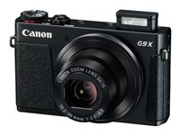 Canon PowerShot G9 X Digital camera compact 20.2 MP 1080p / 59.94 fps 3x optical zoom