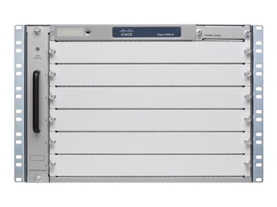 Cisco 7606-S - router - rack-mountable - with 2 x Cisco 7600 Series Route Switch Processor 720 with PFC-3CXL