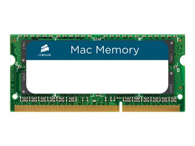 CORSAIR Mac Memory DDR3  16GB kit 1333MHz CL9  Ikke-ECC SO-DIMM  204-PIN