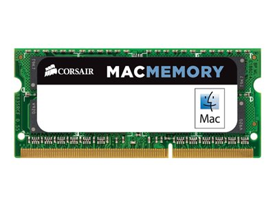 CORSAIR Mac Memory DDR3  4GB 1333MHz CL9  Ikke-ECC SO-DIMM  204-PIN