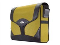 Mobile Edge Select Messenger Bag Notebook carrying case 15.4INCH black, yellow