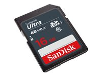 SanDisk Ultra - Carte mémoire flash - 16 Go - Class 10 - SDHC UHS-I