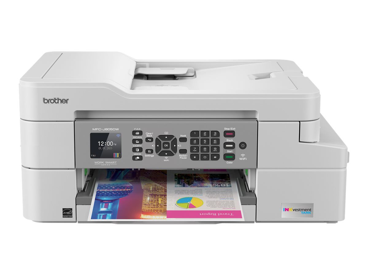 Brother MFC-J805DW XL - multifunction printer - color