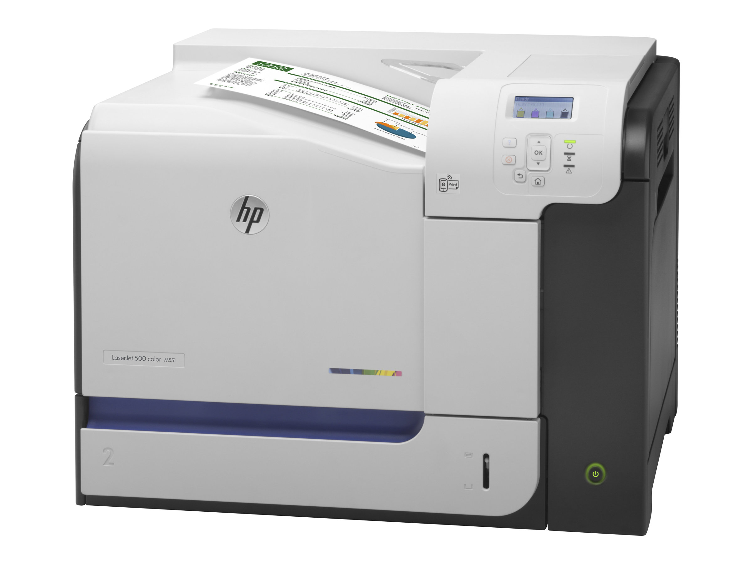 Cartouches laser compatibles avec l'imprimante HP LASERJET ENTERPRISE 500 COLOR M551 N