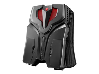MSI VR ONE 6RD 007US Backpack PC Core i7 6820HK / 2.7 GHz RAM 16 GB SSD 256 GB NVMe