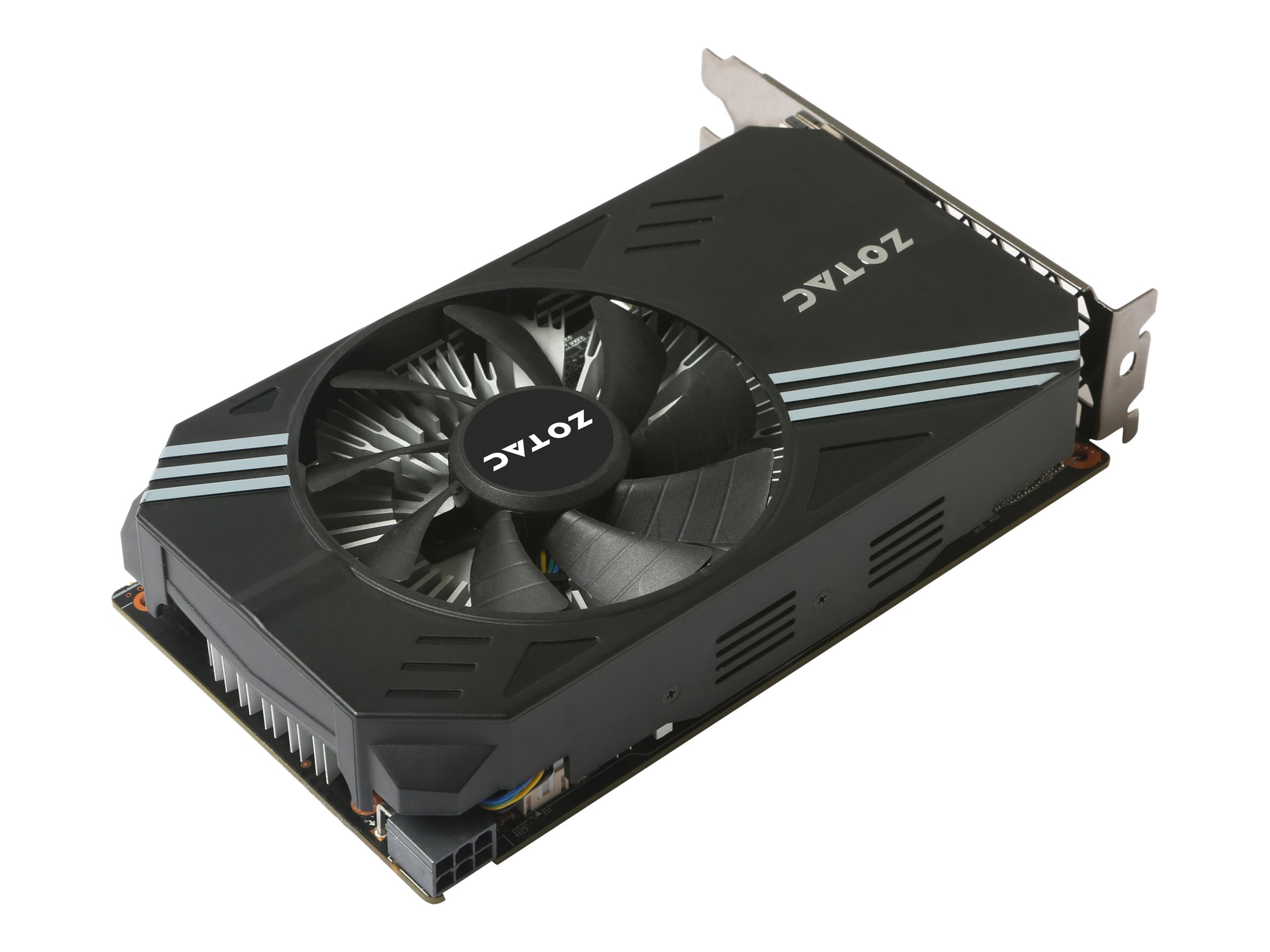 ZOTAC GeForce GTX 1060 Mini - Grafikkarten - GF GTX 1060 - 6 GB GDDR5 - PCIe 3.0 x16 - DVI, HDMI, 3 x DisplayPort