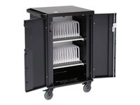 Bretford CoreX Charging Cart Cart (charge only) for 45 tablets / notebooks black