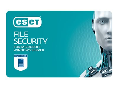 ESET File Security for Microsoft Windows Server Subscription license renewal (3 years) 1 seat
