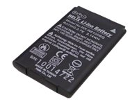 Unitech - Scanner battery - 1 x lithium ion 1100 mAh - for MS 920