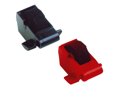 Dataproducts 1 black, red ink roller for Canon P42D, P52DR