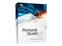 Pinnacle Studio Plus - (v. 22) - ensemble de boîtes - 1 utilisateur - Win - Multilingue - Europe