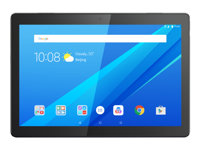 "Lenovo Tab M10 ZA48 - Tablette - Android 8.0 (Oreo) - 16 Go Embedded Multi-Chip Package - 10.1"" IPS (1920 x 1200) - Logement microSD - noir ardoise - avec Lenovo Home Assistant 2.0"