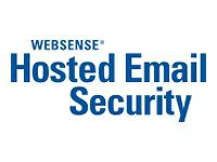 Websense Hosted Email Security Subscription license renewal (1 year) 1 seat volume