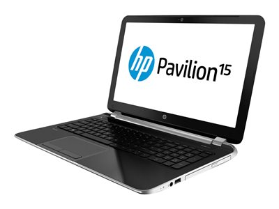 "HP Pavilion 15-n064nr - Core i5 4200U / 1.6 GHz - Win 8 64-bit - 6 GB RAM - 750 GB HDD - DVD SuperMulti - 15.6"" HD BrightView 1366 x 768 (HD) - HD Graphics 4400 - brushed aluminum, natural silver"