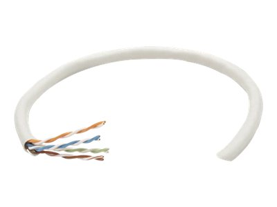 Intellinet Network Bulk Cat5e Cable, 24 AWG, Solid Wire, Grey, 305m, U/UTP, Box - bulk cable - 305 m - gray
