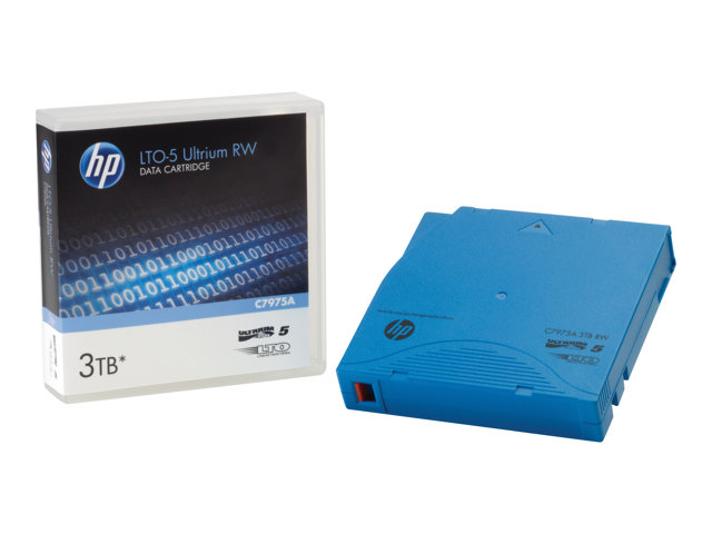 HPE Ultrium RW Data Cartridge - LTO Ultrium 5 - 1.5 TB / 3 TB - light blue