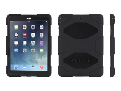 Griffin Survivor All-Terrain Protective case for tablet silicone, polycarbonate black/black