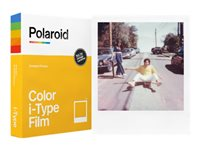 Polaroid i-Type Color Film Fotopapir 88 x 107 mm 8ark