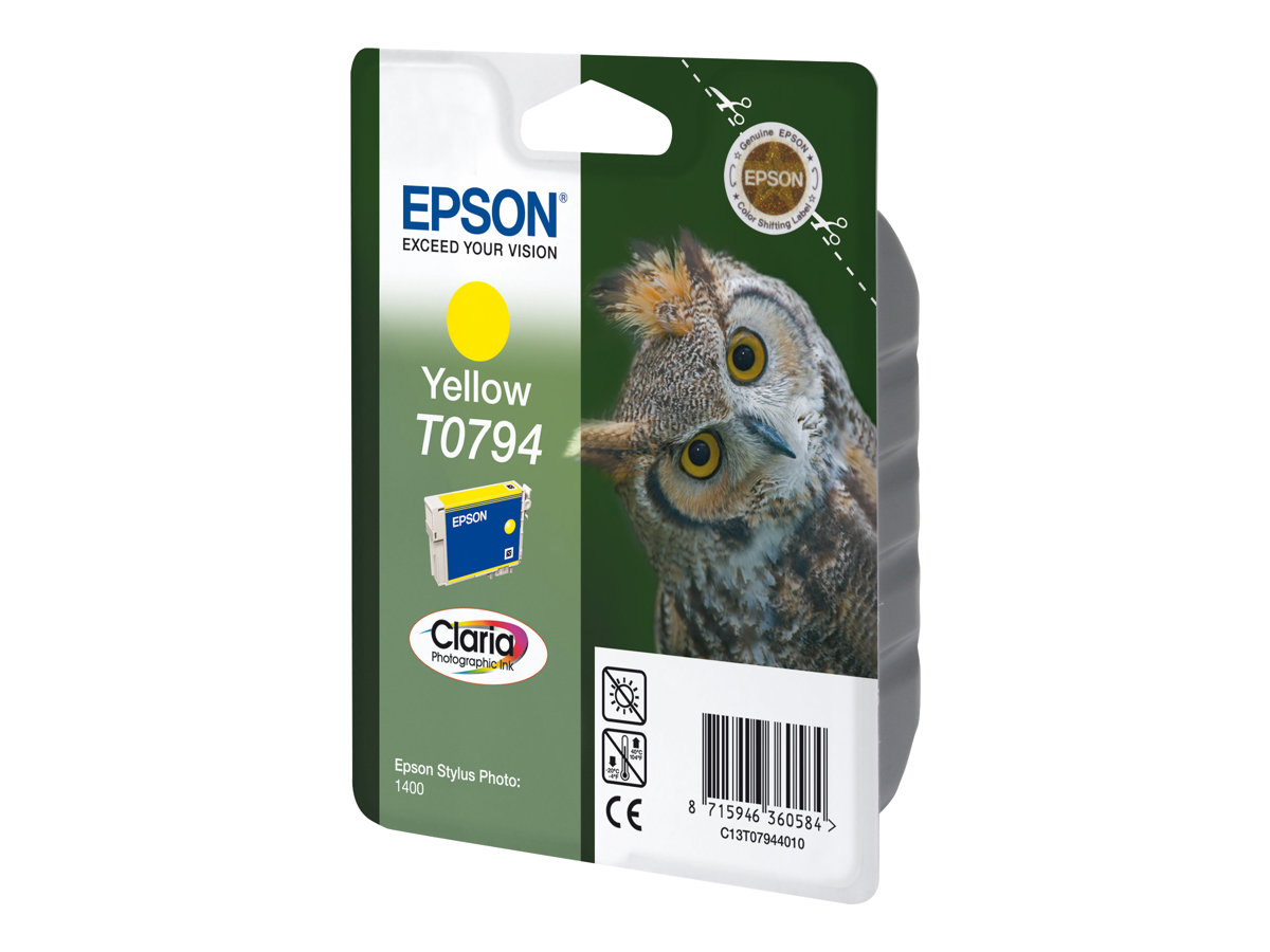 Epson T0794 - yellow - original - ink cartridge