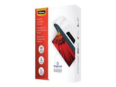 Fellowes ImageLast Letter 200-pack clear 9 in x 11.5