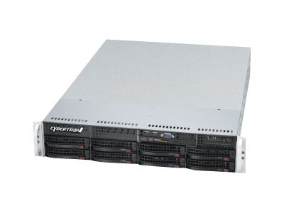 CybertronPC Magnum SVMIB182 Server rack-mountable 2U 2-way 2 x Xeon E5-2603 / 1.8 GHz