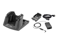 Zebra 1 Slot charging cradle kit - Handheld charging stand + power adapter + battery adapter - for Zebra MC3200, MC3200 Gun Premium, MC3200 Premium, MC3200 Standard