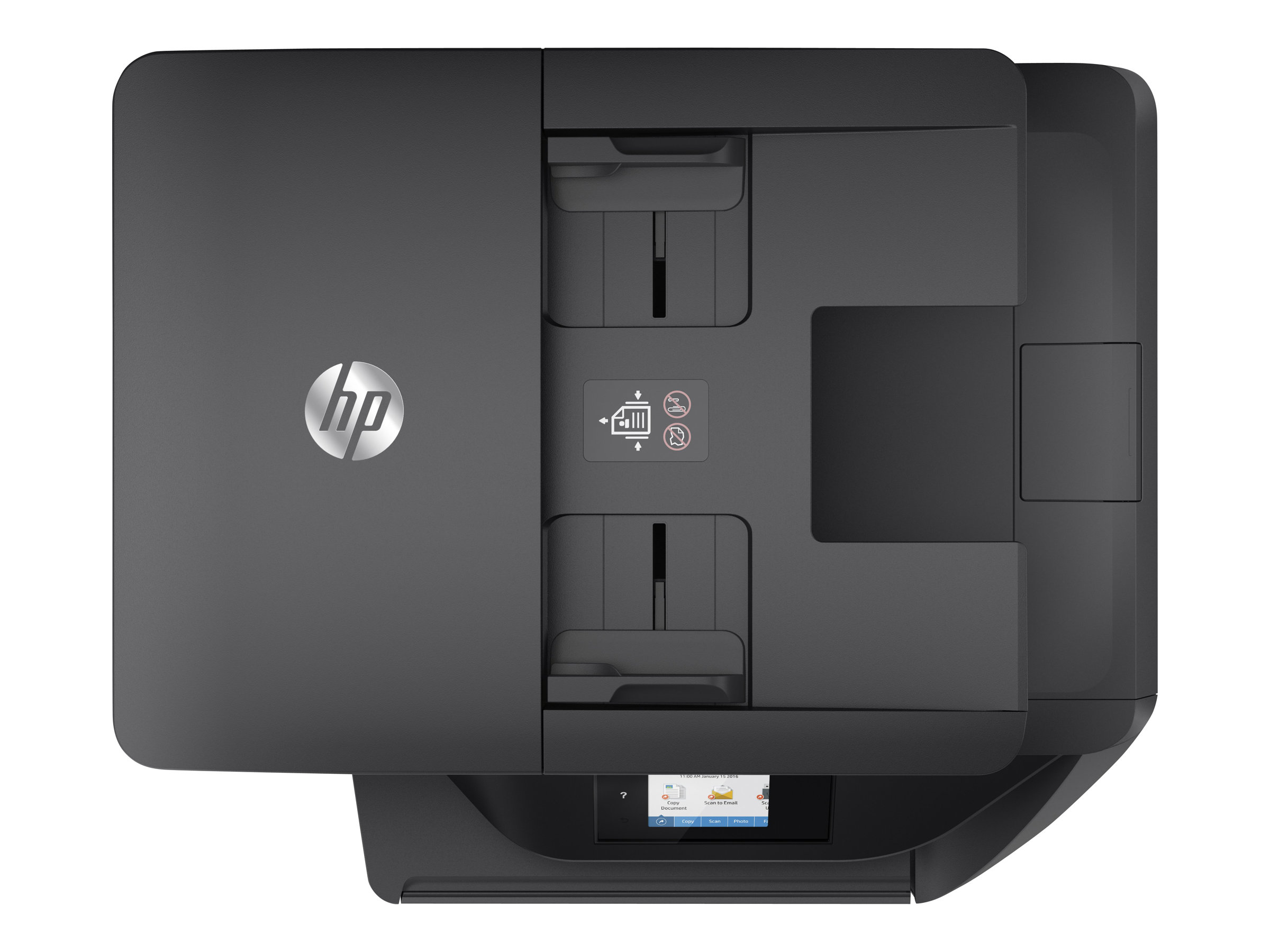 Imprimante HP Color Officejet Pro 6960 All-in-One vue de dessus