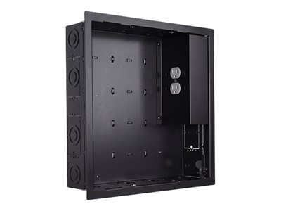 Chief In-Wall Storage Box PAC526FBP2 Storage box for audio/video components black