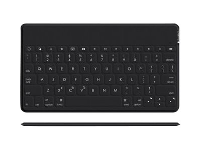 Logicool Keys To Go Tastatur Bluetooth Spansk QWERTY svart