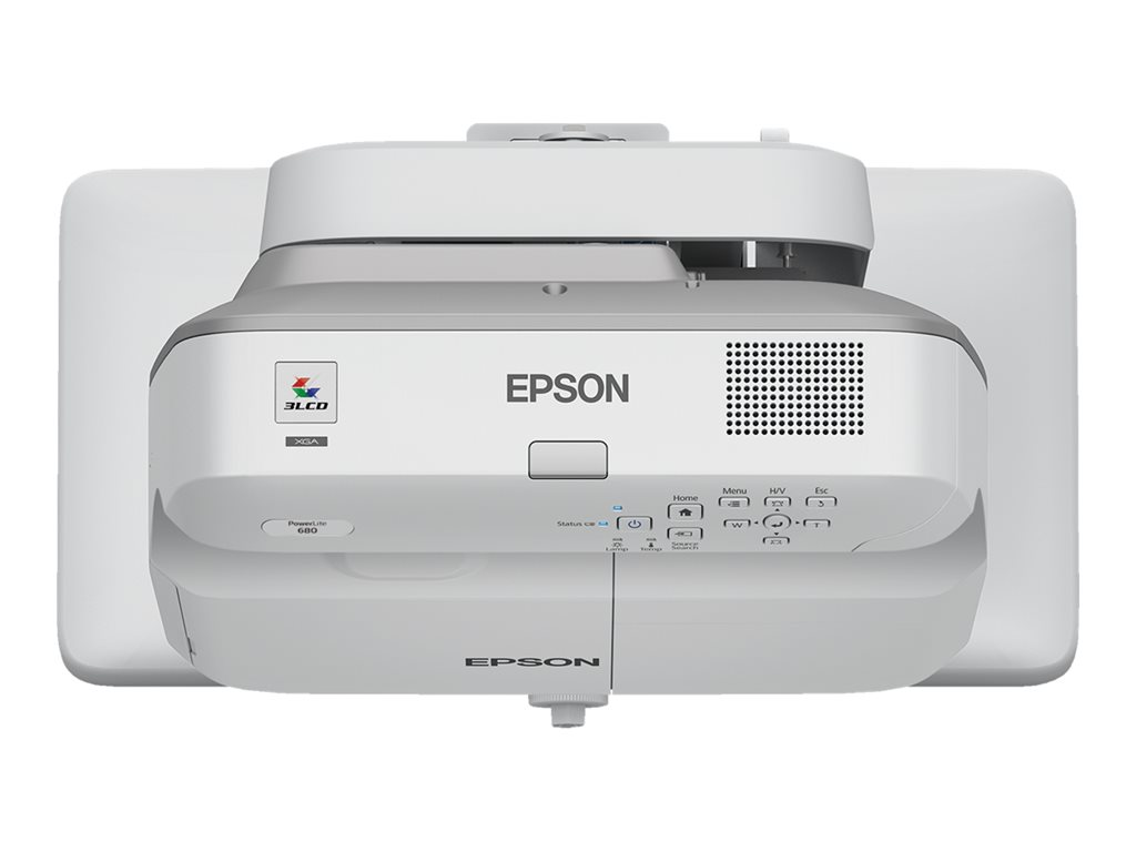 Epson Powerlite 680 3lcd Projector Ultra Short Throw