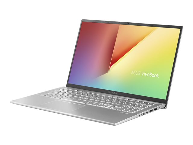 "ASUS VivoBook 15 X512FB-EJ202T - Ultrabook - Core i7 8565U / 1.8 GHz - Windows 10 Home - 8 Go RAM - 512 Go SSD - 15.6"" 1920 x 1080 (Full HD) - GF MX110 - 802.11ac, Bluetooth - argent transparent"