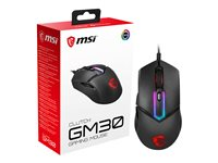 MSI Clutch GM30 Gaming Mouse optical 6 buttons wired USB