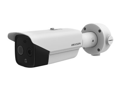 Hikvision Thermographic Bullet Body Temperature Measurement Camera DS-2TD2617B-6/PA  image